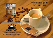 Logo Kaffee-Go, Catering & Barcatering Ulm