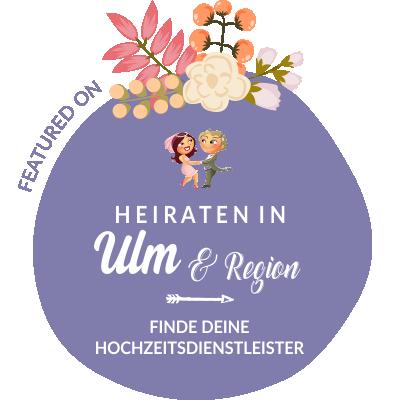 Featured auf Hochzeit & Heiraten in Ulm, Neu-Ulm, Donau-Iller